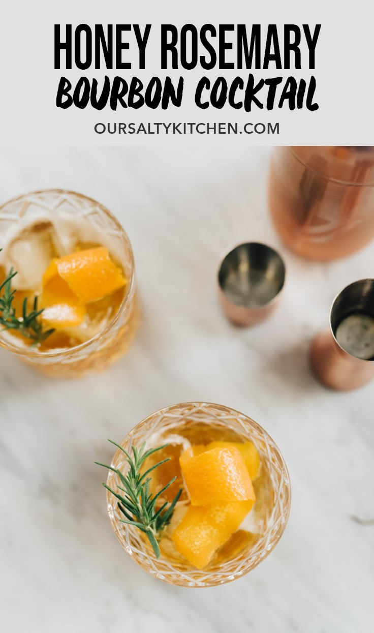 Rosemary Simple Syrup Drink Recipe