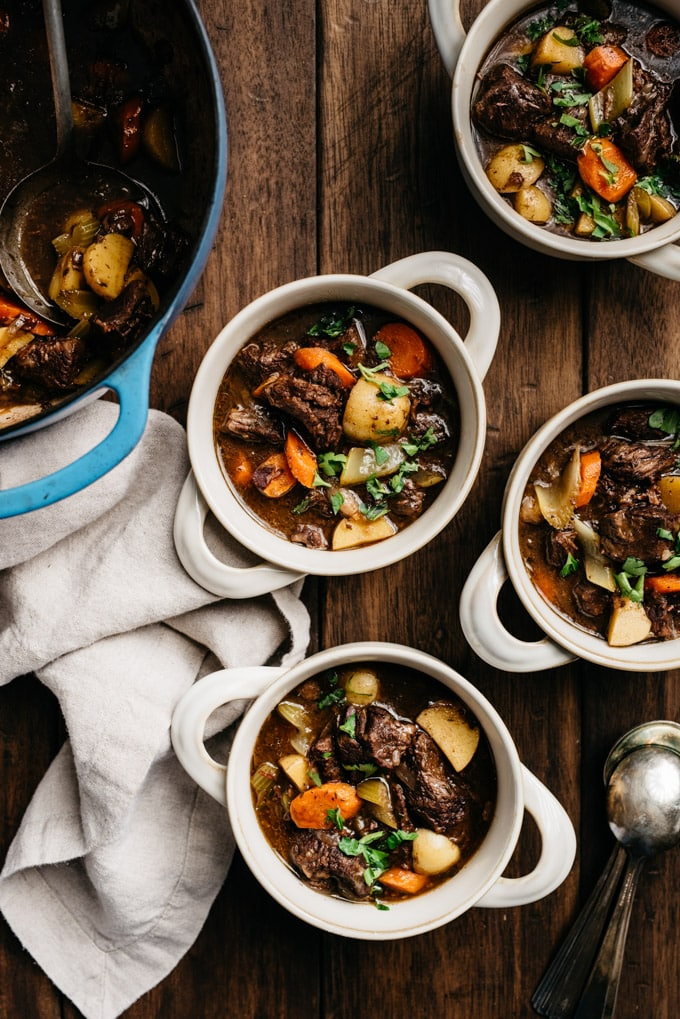 Dutch Oven Beef Stew With Red Wine Our Salty Kitchen