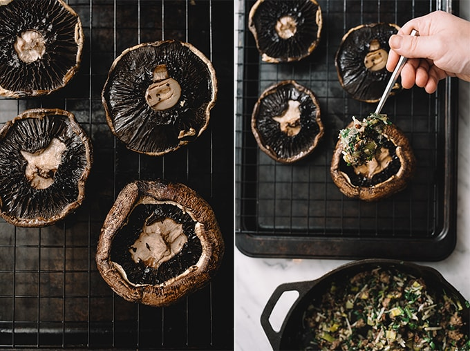 As I child, there was no savory special occasion food I looked forward to more than stuffed mushrooms. These are a grain-free, vegetable packed, healthier version of the Italian classic. Sausage and Winter Vegetable Stuffed Portobello Mushrooms on Our Salty Kitchen.