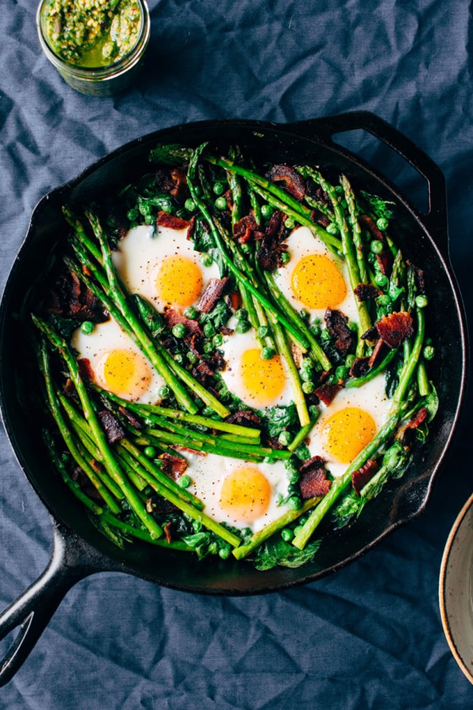 It's Round-up Time! Easy, seasonal brunch recipes for Easter.