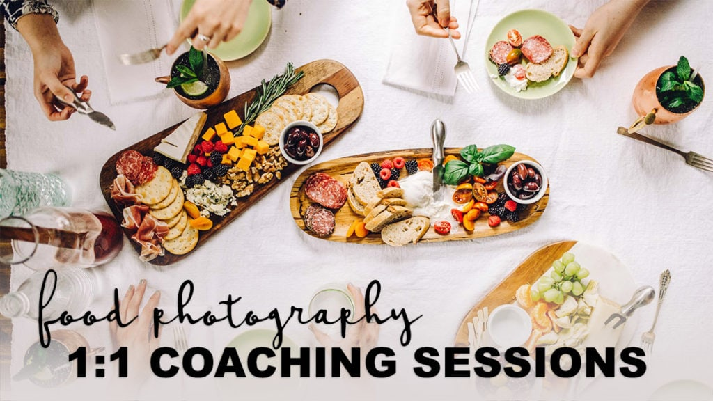 Improve your food photography skills overnight with a personalized food photography coaching session! You'll learn the tips and tools you need to create and edit stunning food images again and again.