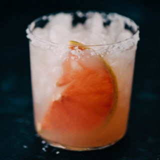 Paloma Cocktail with Fresh Squeezed Grapefruit Juice