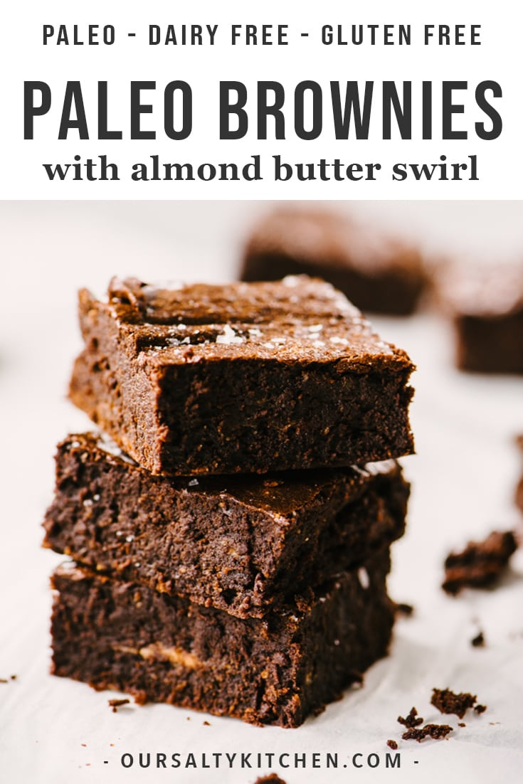 Life changing paleo brownies are here! These are the best gluten free, dairy free, refined sugar free brownies out there. No weird ingredients or gimmicks. You need just 8 real food ingredients and 1 hour of your time to prepare the ultimate chocolate paleo dessert recipe.