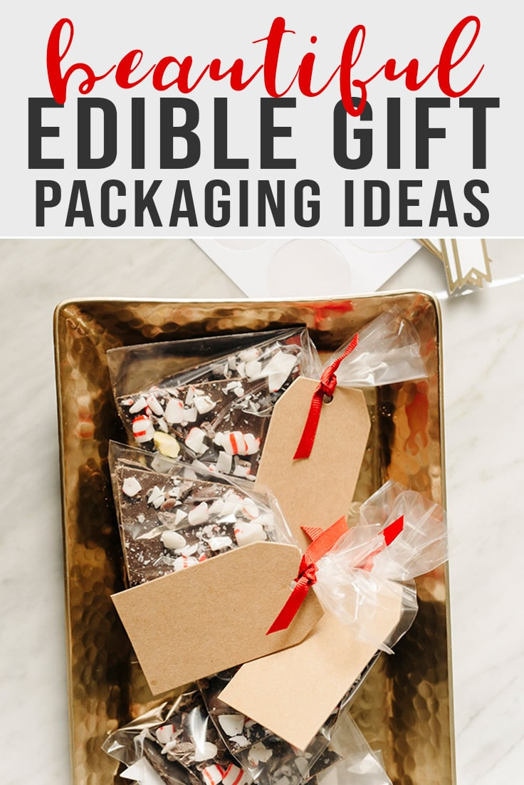 A collection of beautiful ideas for edible Christmas gift packaging.